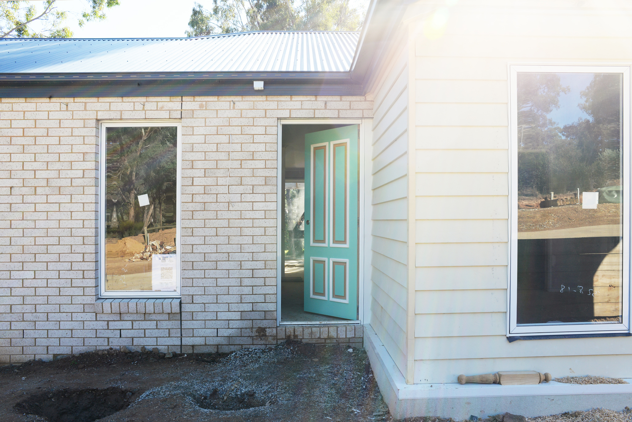 Lot 1 Display Home under construction